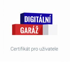 Certifikát Digitální garáž