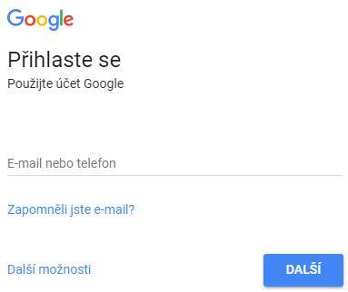 Přihlaste se do služby Google - netpromotion group s.r.o.