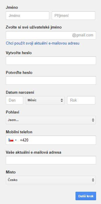 Registrace ke Google službám - netpromotion group s.r.o.