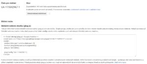 Měřící kód GA - netpromotion group s.r.o.