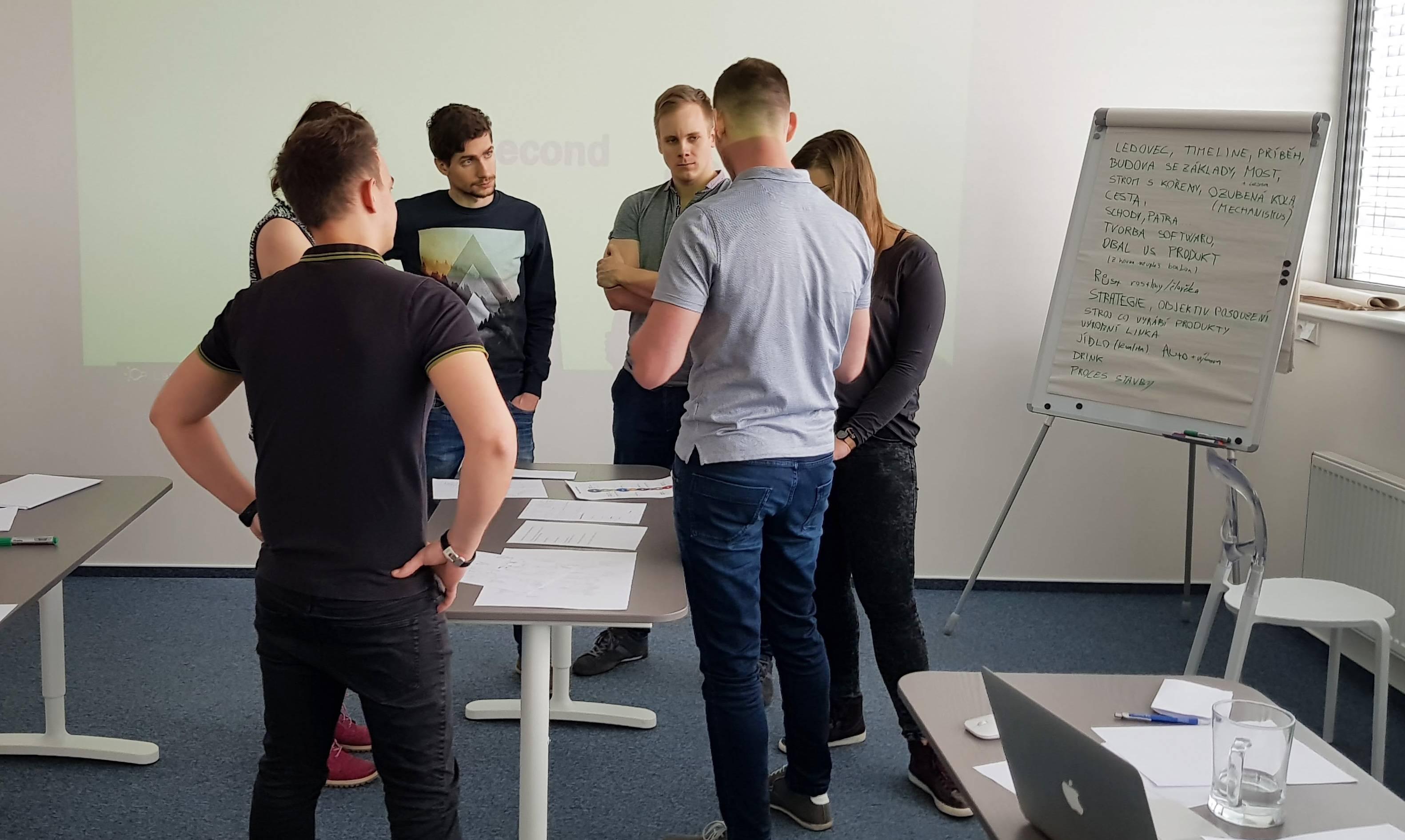 Brainstorming s kolegy
