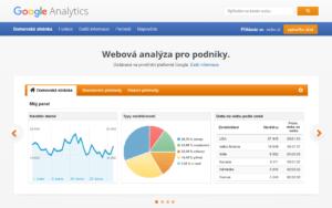 Úvodní stránka Google Analytics - netpromotion group s.r.o.