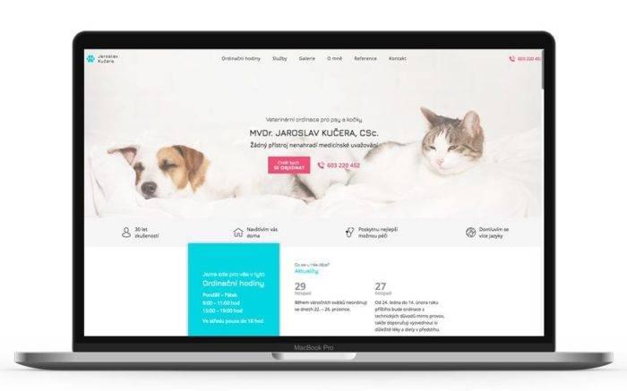 Ukázka jednostránkového webu Jaroslav Kučera - netpromotion group s.r.o.